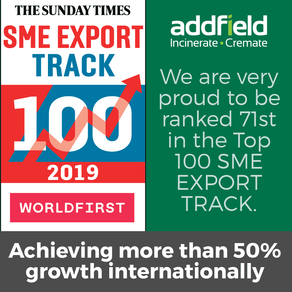 Addfield joins SME Export Track 100