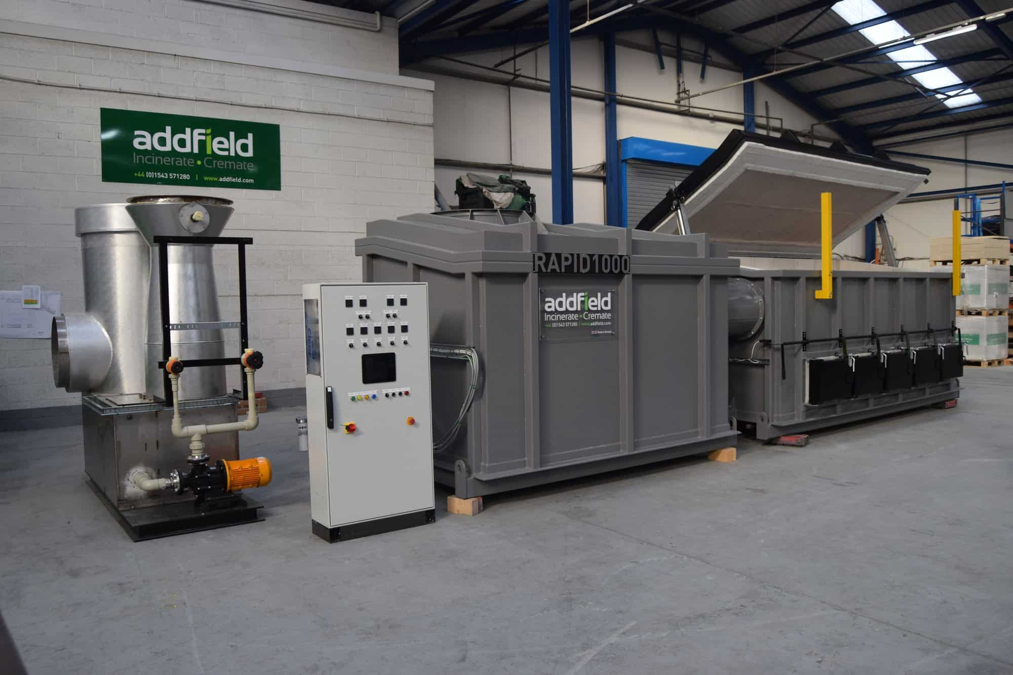 Discover the Rapid 1000 High Capacity Agricultural Incinerator