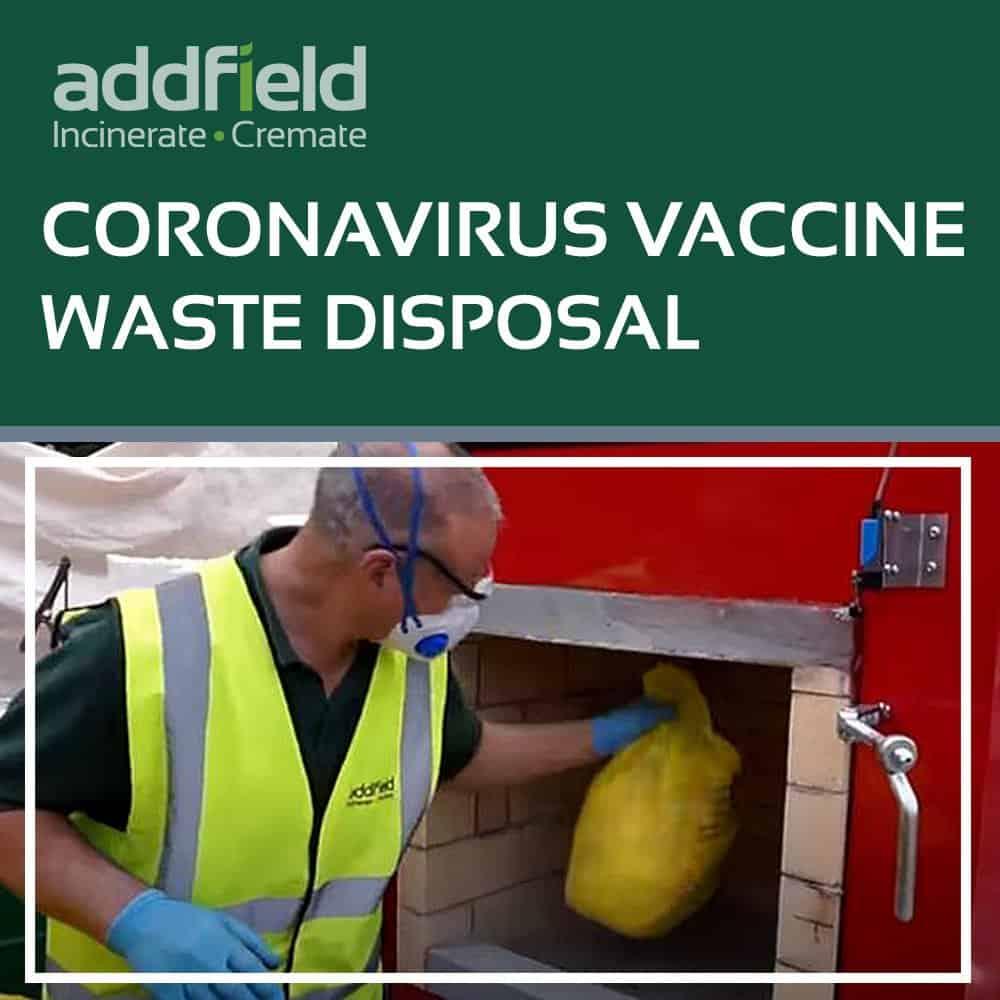 Coronavirus Vaccine Disposal