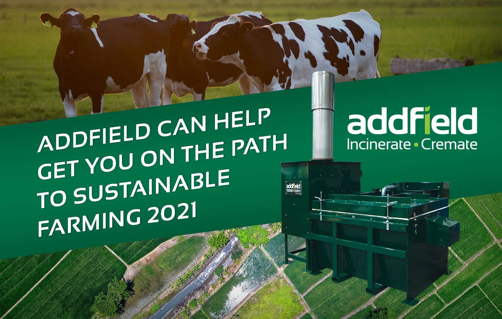 Incineration is key in Sustainable Farming Initiative.