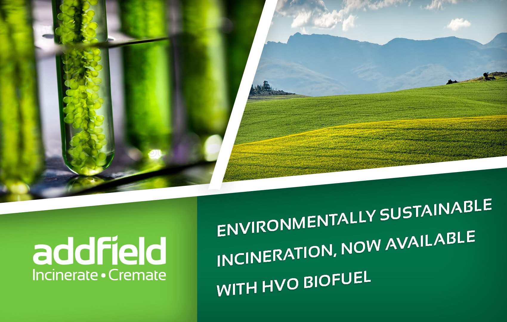 Environmentally sustainable incineration Now available with HVO BioFuel