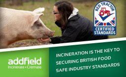 Incineration is key to achieving Red Tractor certified standards.