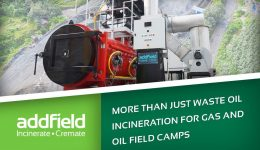 Waste Oil Incinerator For Gas and Oil Sites